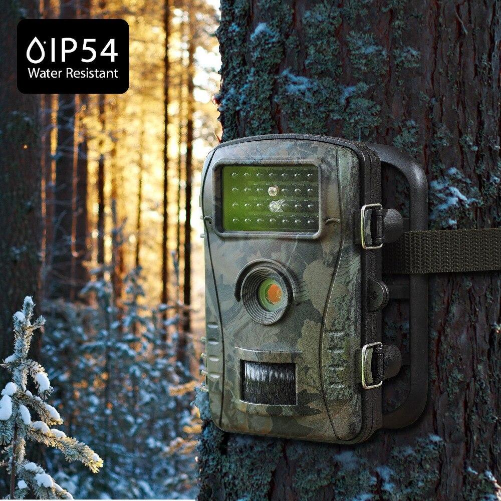 940NM caméra de chasse infrarouge 1080 P Vision nocturne caméra de sentier piège extérieur étanche faune jeu caméras chasseur Cam