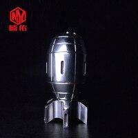 1PC EDC Seiko Small Fingertip Torpedo Gyro Stainless Steel Brass Sandblasting Polishing Adult Decompression Creative Spiral Toy