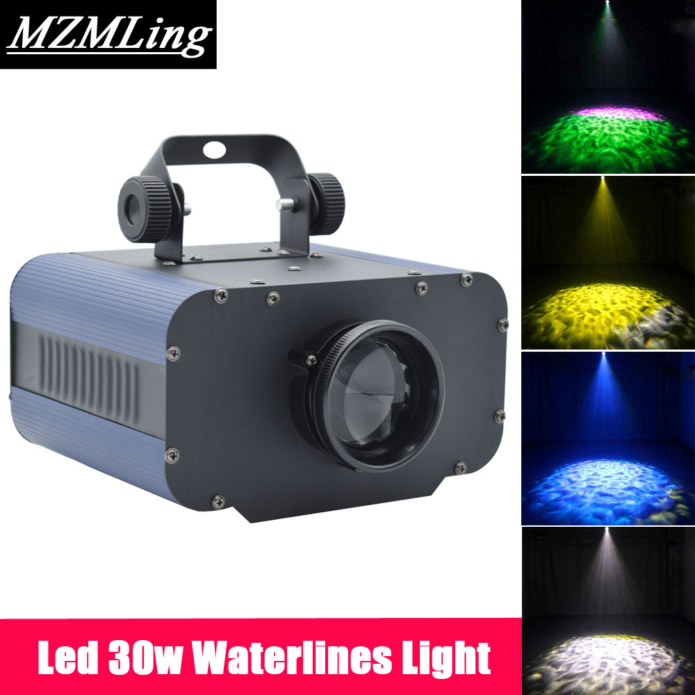 Led 30w Waterlines Light Professional DJ /Bar /Party /Show /Stage Light LED Stage Machine mini laser light r g color stage light dj bar party show stage light led stage machine