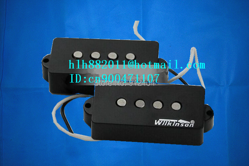 free shipping new 4 strings electric bass guitar pickup in black made in South Korea wk-11-1 free shipping 2017 new ernie ball musicman sting ray 4 strings white electric bass guitar in stock active pickups 1 15