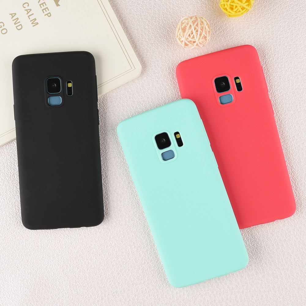 Online Shop 360 Full Protection Matte Hard Case For Sansung S8 Plus Baby Skin Ultra Thin Samsung S7 Edge Black Soft S9 S6 Candy Back Cover Funda