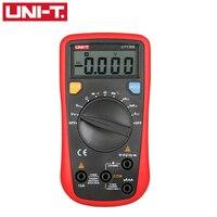 UNI-T UT136B Цифровой мультиметр Авто Диапазон Тестер AC DC Напряжение Ток Ом диод Кепки Гц видами измерения для обычно Тесты