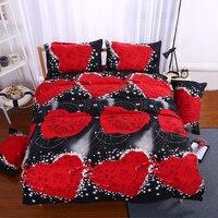 3d الفراش مجموعات الفراشة مارلين مونرو ليوبارد روز أغطية ورقة غطاء لحاف الملكة الملك التوأم الباندا المفرش أغطية السرير
