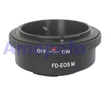 Amopofo FD-EOSM Adapter,For Canon FD Lens to EOSM EFM Digicam