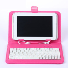 1 Piece 10 inch Universal Tablets Case With Tab Keyboard Protective Support Case Cover for iPad Samsung LG Tablet 10″ inch T0.11