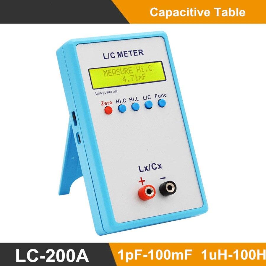 M057 condensateur portatif Inductance L/C LC mètre LC200A multimètre pont électrique