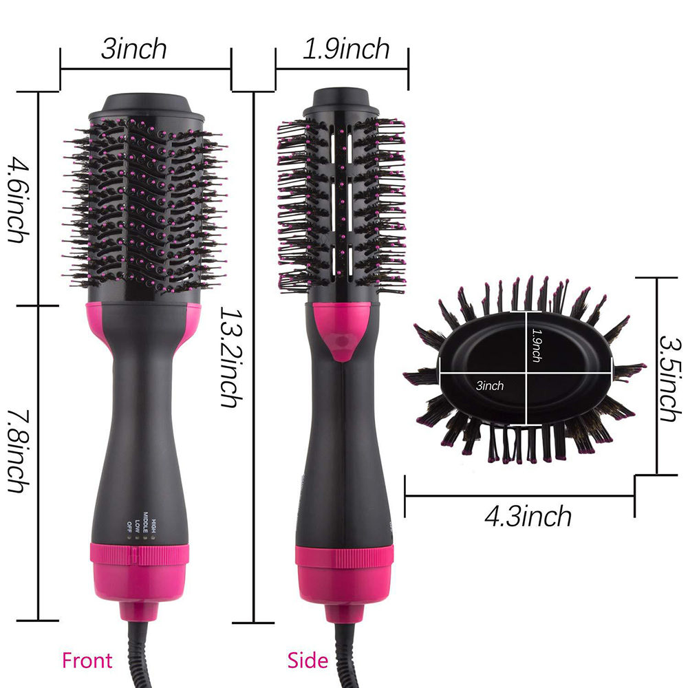 One Step Hair Dryer Brush XQ 09