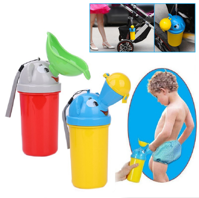 Portable Convenient Travel Cute Baby Urinal Kids Potty Girl Boy Car Toilet Potties Vehicular Urinal