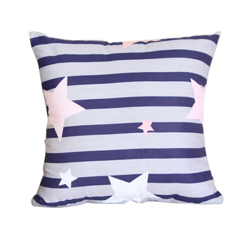 Fresh Style Pillow Cotton Pillows 40 * 40cm Small Cute Cartoon Home Bed Decor Creative Pillow New