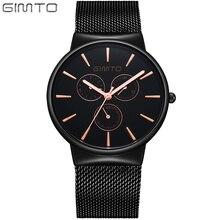 Холодный Черный Бизнес Часы Мужчины Наручные Часы Часы Стальной Сетки Ремешок Мужчины Спорт Кварцевые часы Relogios Montre Homme Рождество подарок