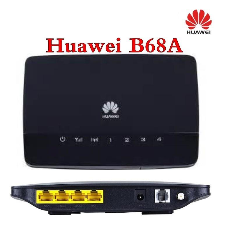 Huawei B68A WiFi 300Mbps b / g / n 3G (HSPA +) 21Mbps - ქსელის აპარატურა - ფოტო 2