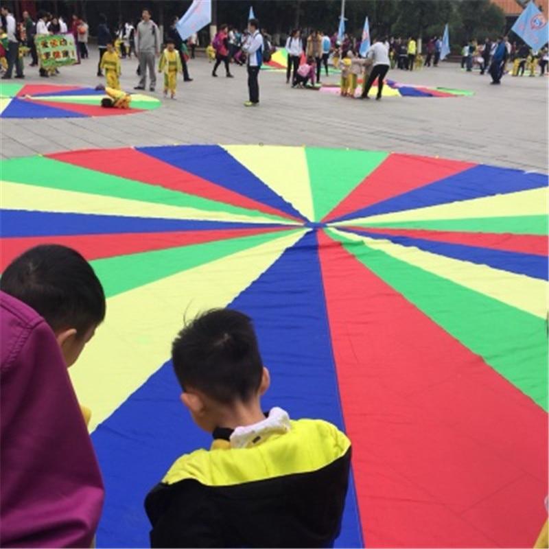 big size 3 6m toys sport game children outdoor parachute kids games