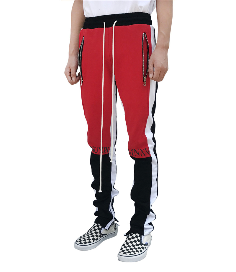 2020 New Spring Brand Gym Sport Pants Men Joggers Patchwork Fitness Bodybuilding Mens Running Pants Runners Clothing Sweatpants 4