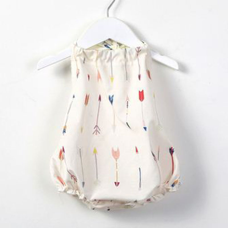 Infant newborn baby girls sleeveless romper 2018 summer cute baby girls sunsuit clothes beach style Baby Overalls puseky 2017 infant romper baby boys girls jumpsuit newborn bebe clothing hooded toddler baby clothes cute panda romper costumes