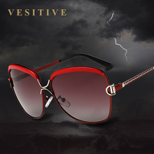 VESITIVE 2017 Luxury Brand Designer Sunglasses Women Oversized Polarized Sun Glasses For Women Vintage Female Ladies Glasses