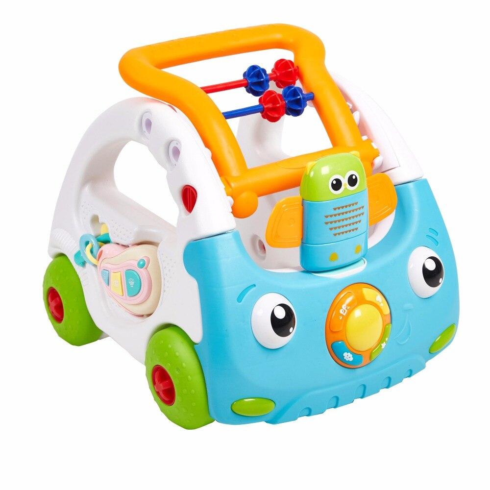 Sit /& Ride-On Push Along Walker Car /& Lights /& Sounds Children/'s Toy