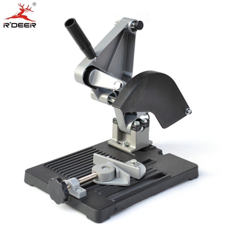 RDEER Angle Grinder Carrier Cutting Machine Fixator Grinders Universal Machine Polisher Hand Mill Support Frame Hand Tool цена