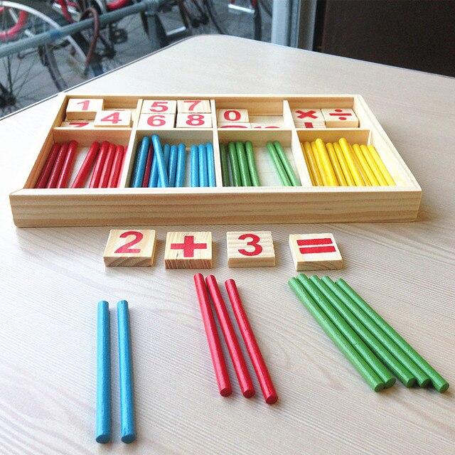 Madera Juguetes Para Ninos Educativos Juguetes De Matematicas