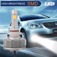 H10 LED Fog Lamps Motorcycles Automobiles Cars Bulbs Conversion Kit High Brightness White 6000K DC10V 40V Easy Install