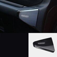 lsrtw2017 titanium black stainless steel car dashboard co-pilot trims decoration for jeep wrangler 2018 2019 JL