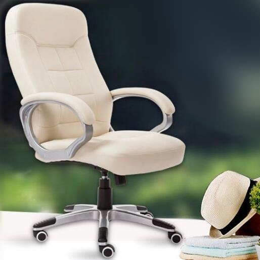 High Quality Ergonomic Swivel Office Chair Computer Chair Home Ergonomic Leisure Lifting Super Soft Boss Chair Colorful cadeira 240337 ergonomic chair quality pu wheel household office chair computer chair 3d thick cushion high breathable mesh