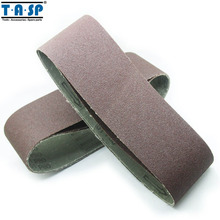 Free shipping 20 Pieces 75x533mm(3x21 In) Sanding Belts Various Grits 40 60 80 120 Sander Belts