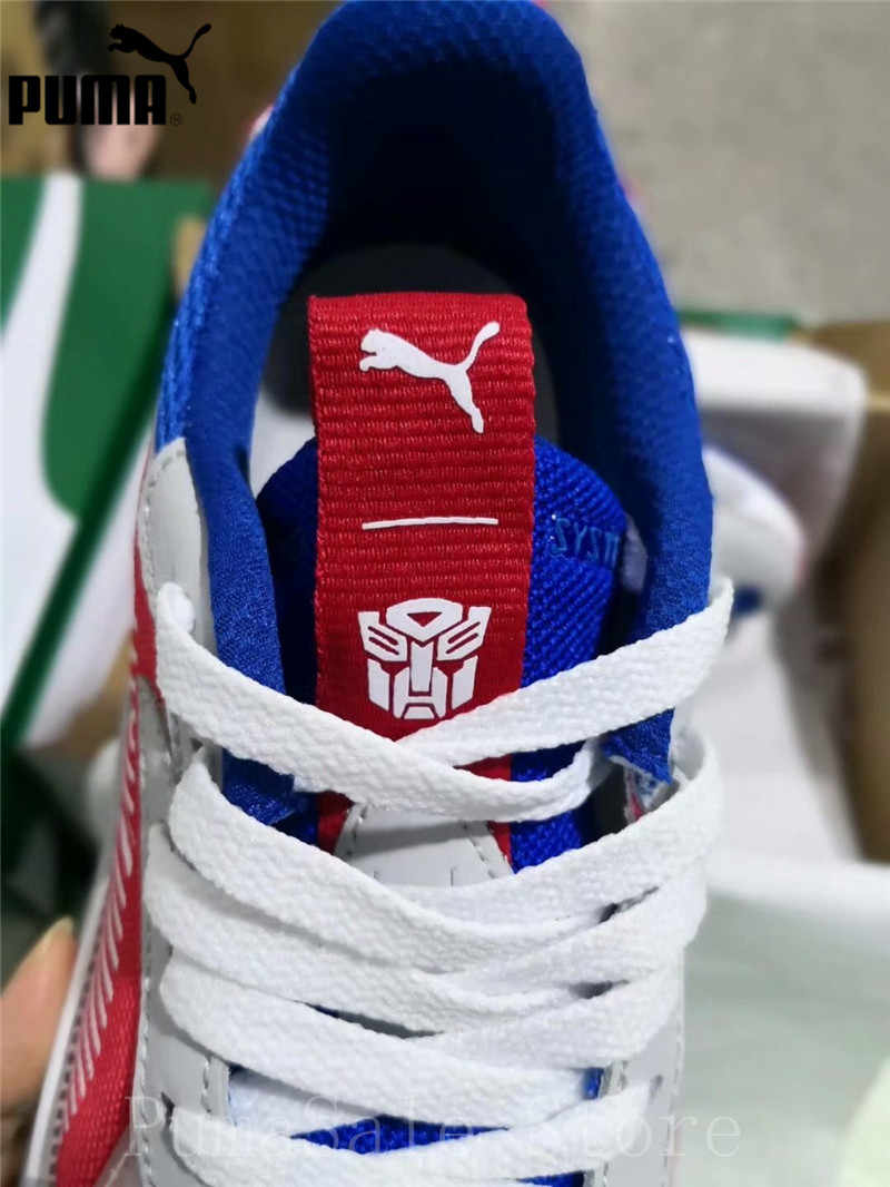 1c6fdc760035 ... PUMA x Hasbro RS-X Transformer Men Women Badminton Shoes Optimus Prime  370702-01 ...