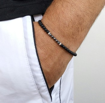Lucky Handmade Stone Beads Bracelets11