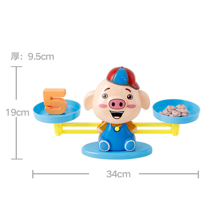 Funny Monkey Match Math Balancing Scale Children Educational Toy To Learn Add And Subtract Training Math Learning Toys Gifts Learning & Education