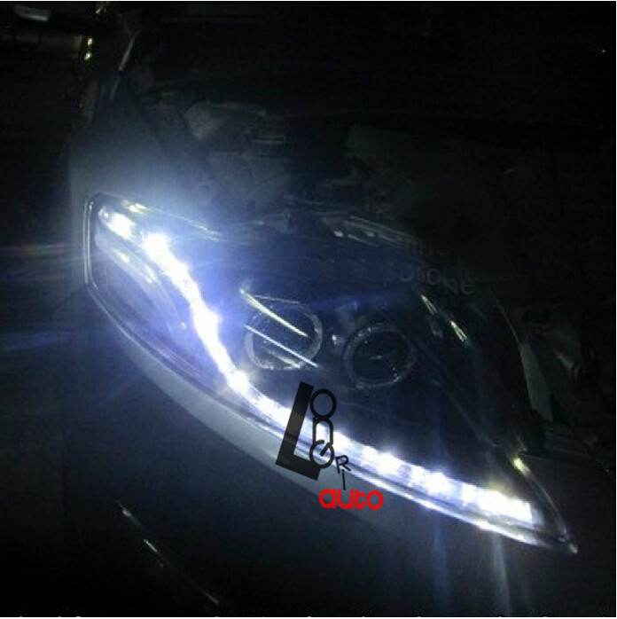 LENS Headlights with LED and Bi-xenon Projector For Ford Mondeo Fusion  2009-2012