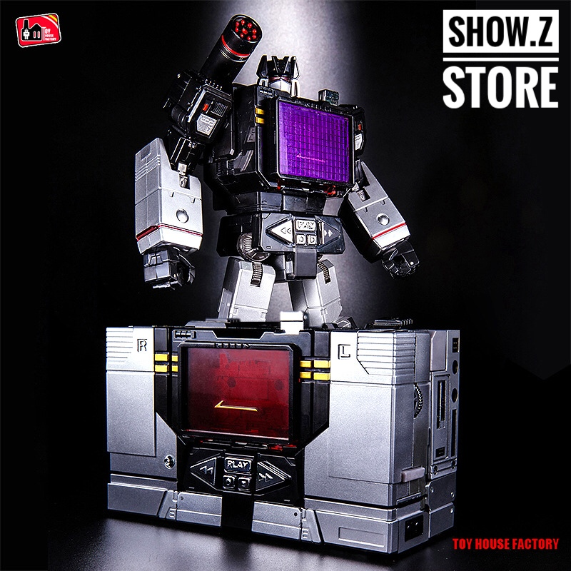 [Show.Z Store] Toy House Factory THF-01B Soundblaster Black Transformation Action Figure THF thf 51 thf 51s