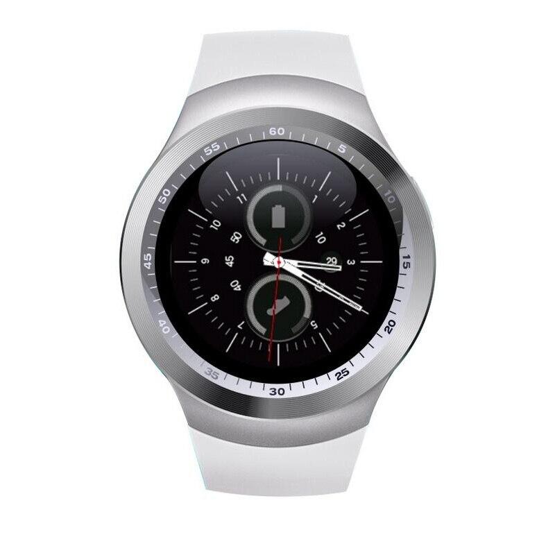 Nueva portátil smart watch y1 apoyo nano sim y tarjeta de tf con whatsapp y face