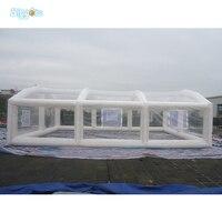 PVC שקוף מתנפח אוהל קמפינג אוהל מתנפח אוהל דשא מתנפח