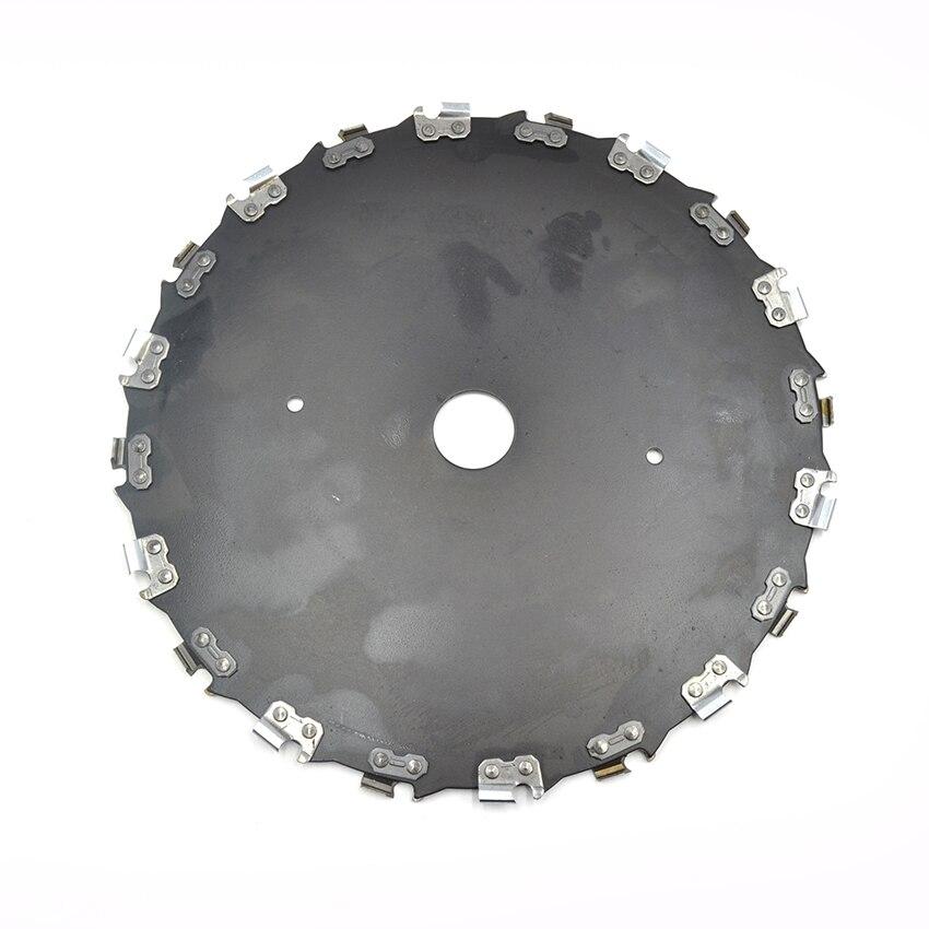 20T 25 4mm Chain Disc for wood 130mm Chainsaw Circular Cutting Chain Saw Blade