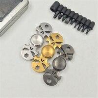 Multi Function Spinning Top Skull Stainless Steel Bottle Opener Screwdriver Hand Spinner Bearing Fidget Spinner Toy