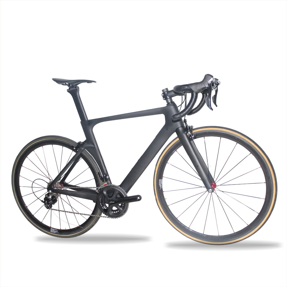 Miracle 700c Aero Carbone Vélo De Route 7.8 KG Complet vélo de Route Vélo tubulaire Roues 49 cm, 52 cm, 54 cm, 56 cm, 59 cm