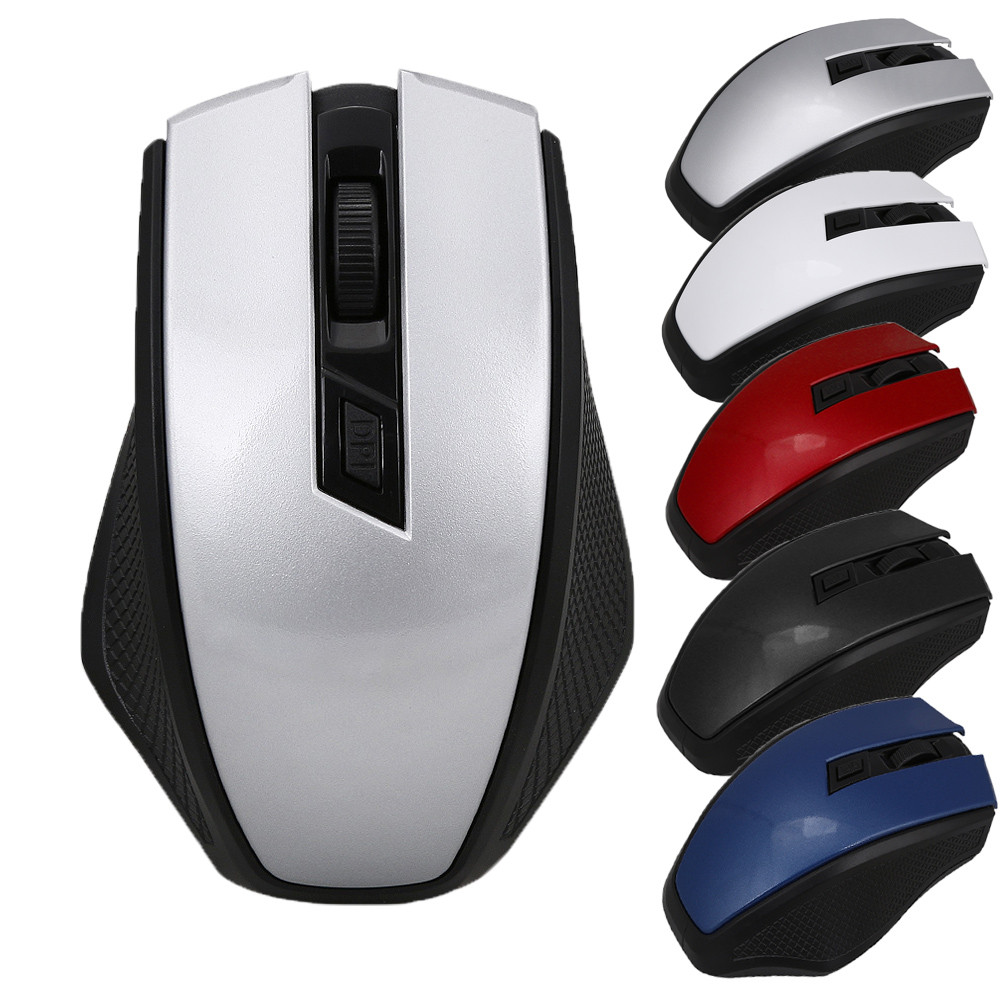 2019 Fashion Office Game MICE 2.4GHz Wireless Optical Mouse Mice+USB Receiver For PC Laptop Macbook