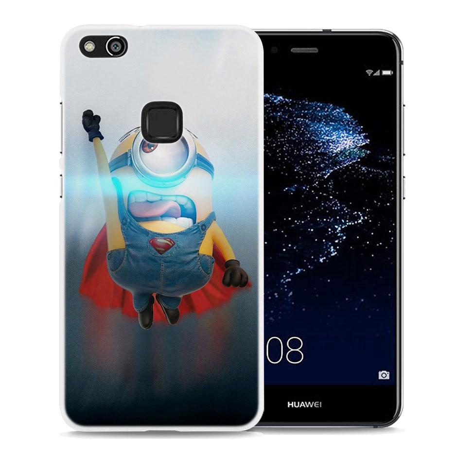 Minions My Unicorn Agnes design Hard White Phone Case for Huawei P20 P20 Lite P Smart P10 P8 P9 Lite 2017 P10Lite