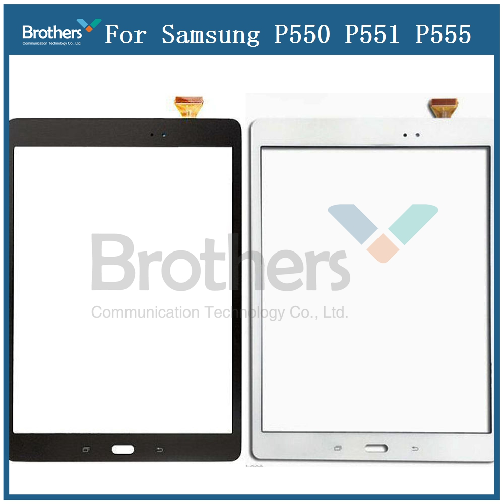 Tablet Touch Panel For Samsung Galaxy Tab A 9.7 P550 P551 <font><b>P555</b></font> Touch Screen With Digitizer Glass Lens SM-P550 Replacement Screen image