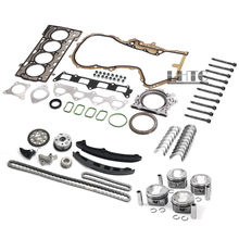 Conjunto completo de Qualidade OEM Pistões Do Motor Timing Juntas Rebuild Kit Overhaul Para V W AUDI 1.4 TSI CAVD CTHD Para 1.4 TSI/TFSI EA111