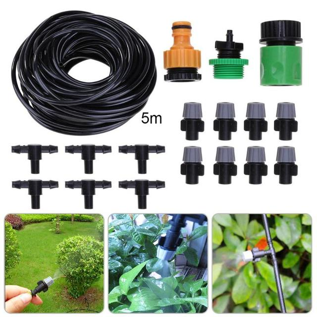 Garden Diy Adjustable Automatic Micro Drip Irrigation System Garden
