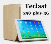 Nueva llegada Original de LA PU funda de piel para Teclast x98 plus 3G 9.7 pulgadas Tablet PC Teclast x98 plus 3G caso