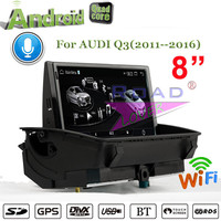 Roadlover Android 4.4 Car Media Center Player Autoradio For Audi Q3 (2011 2016) Stereo GPS Navigation Magnitol 2 Din MP3 NO DVD