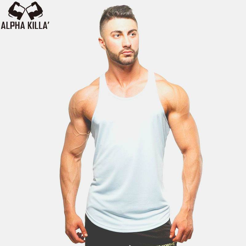 Golds gyms clothing Brand singlet canotte bodybuilding stringer   tank     top   men fitness muscle guys sleeveless vest Tanktop