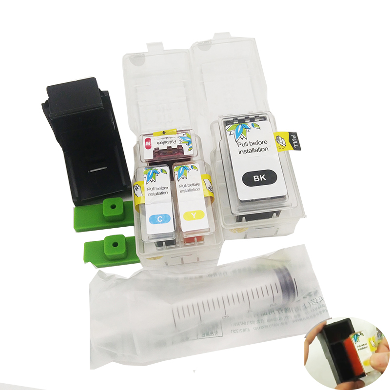 Einkshop PG47 Smart Cartridge Refill Kit For Canon PG-47 CL-57 PG 47 CL 57 Pixma E3170 E400 E410 E460 E470 E480 Printer