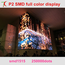 Free Installation Method of P2 full color led video wall for multi-media classroom