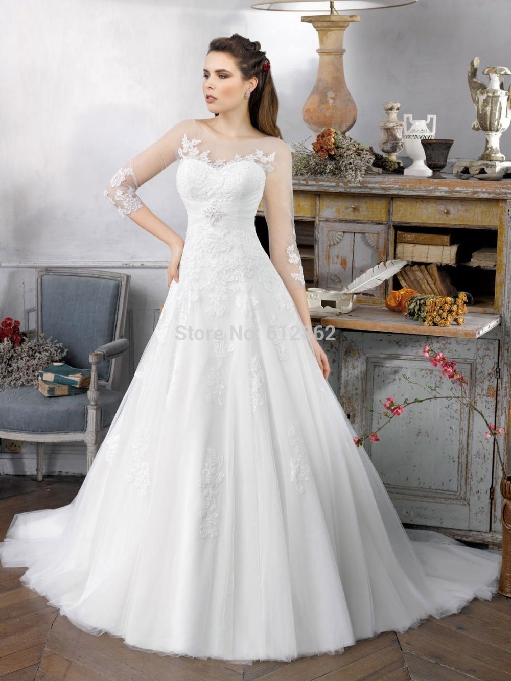 Bridal sort 20a&page 3 modest wedding dress M AB