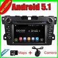 7 ''Quad Core Android 5.1 Jogador Do Carro DVD para Mazda CX-7 2012-Com 16 GB Flash Radio Stereo Multimedia Mapa Espelho Link