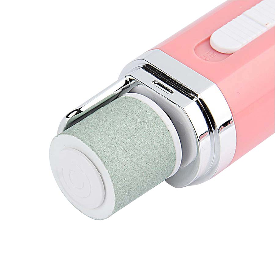 Bidirection Rotation Electric Nail Polisher Buffer Toe Care Device Pink White Blue Three Art Tips In Files Buffers From Beauty