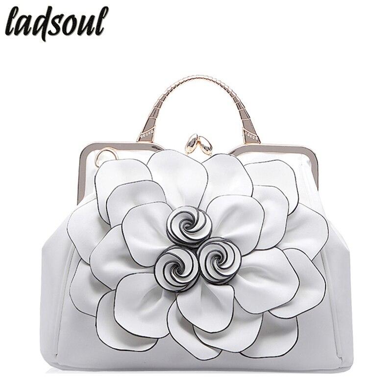 b122712c2515 ≧Ladsoul элегантный Для женщин кожаная сумочка Роскошные Для женщин ...